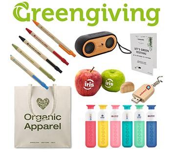 greengiving duurzame relatiegeschenken