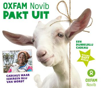 Oxfam Geef Een Geit Drinkwater Of Een Studiebeurs Cadeau