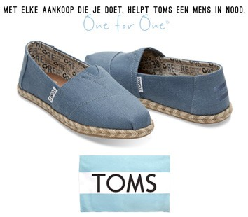 toms schoenen duurzaam