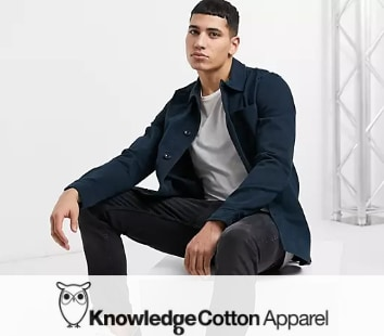 knowledge cotton apparal duurzame kleding heren