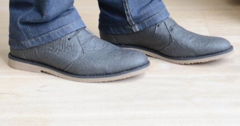 pinatex schoenen ananasleer vegan