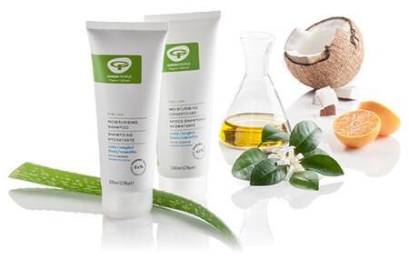 green people moisturising shampoo