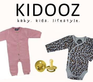 kidooz babykleding van biologisch katoen