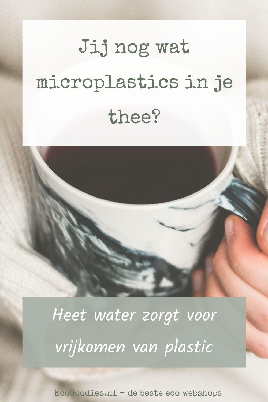 Jij nog wat microplastics in je thee? Of toch liever een schepje honing...