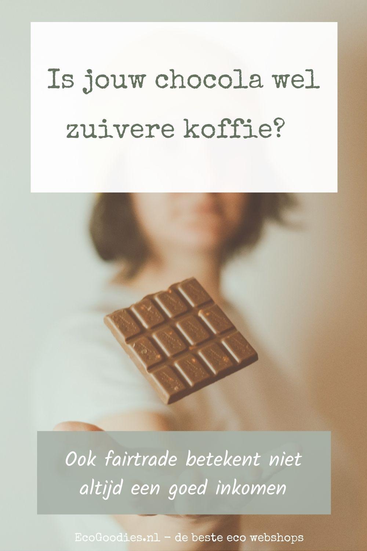 Is jouw chocola wel zuivere koffie?