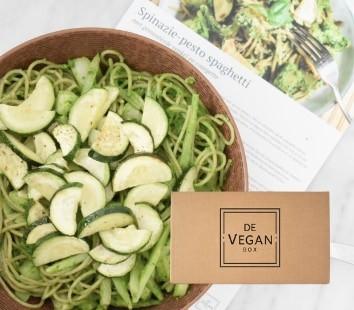 de vegan box veganistisch koken maaltijdbox 1