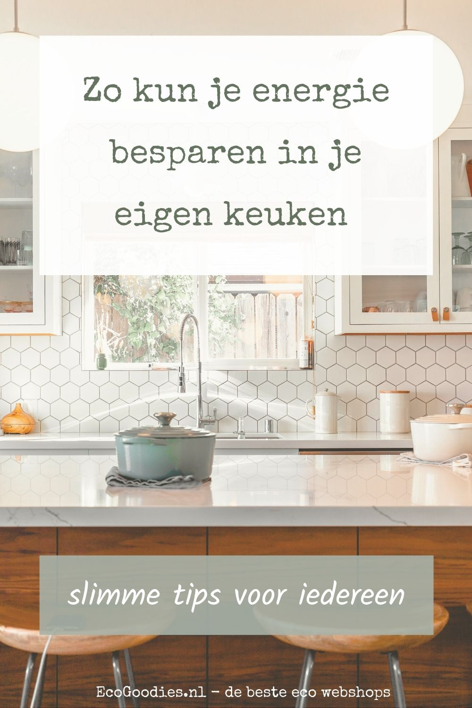 Zo kun je energie besparen in je eigen keuken