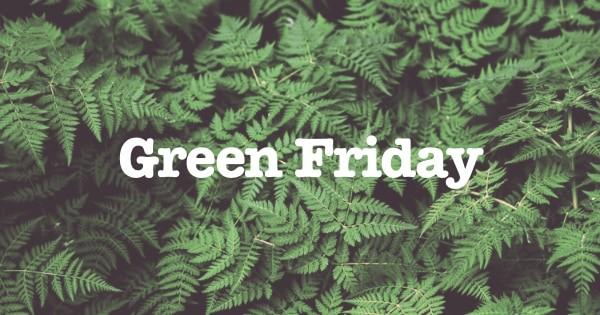 green friday duurzame aanbiedingen