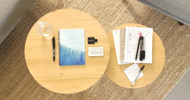 moyu notitieboekje steenpapier duurzaam
