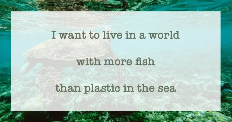 blog duurzame quotes plastic in the sea