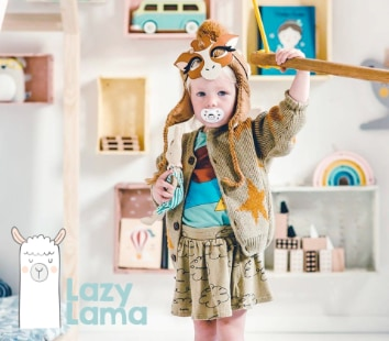 lazy lama duurzame kinderkamer speelgoed 1