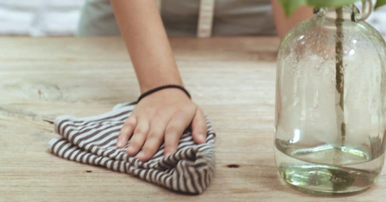 natuurlijk schoonmnaken zonder plastic