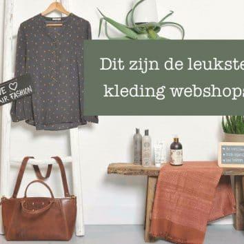 Duurzame kleding & fair fashion