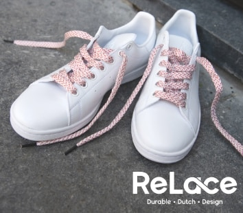 relace veters gerecycled plastic duurzaam